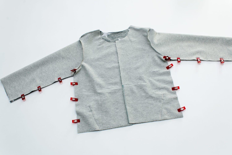 Kostenloses Schnittmuster: Sweatjacke für Kinder nähen | Snaply-Magazin #tunicdresses