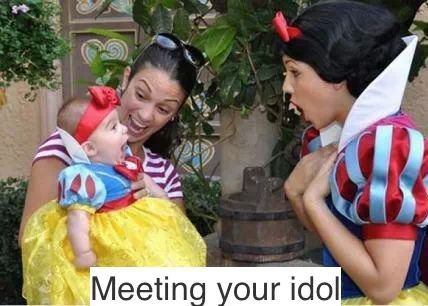 Meeting your idol
