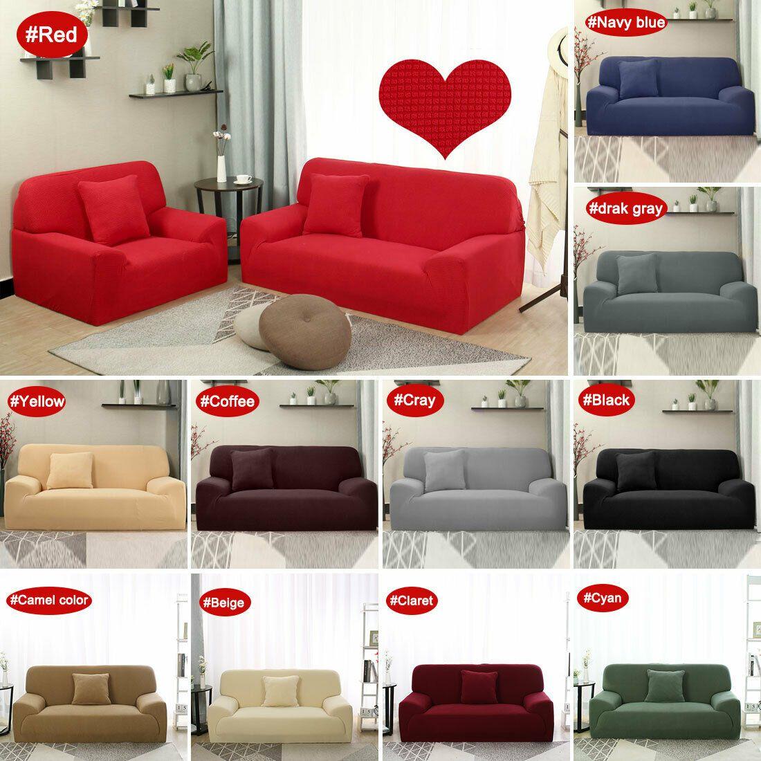 1 2 3 4 Seater Jacquard Sofa Covers Lounge Couch Sofa Slipcover Protector Sofa Slipcover I Fabric Sofa Cover Chair Covers Slipcover Couch Covers Slipcovers