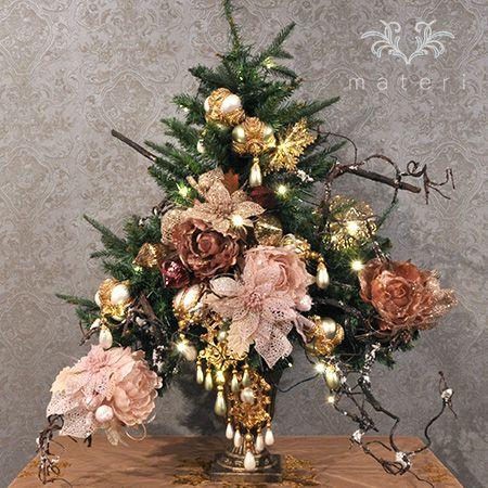 "christmas tree set ""natural spirit"""