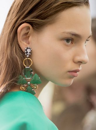 Ss17 Runway Trend Statement Earrings Moda Operandi