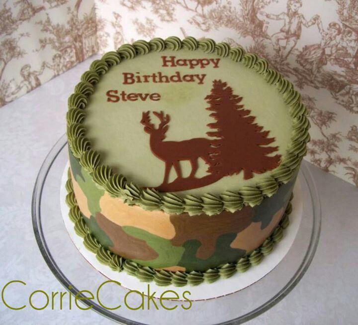 Pin by Amy Sahr on Hunting cake Pinterest Cake