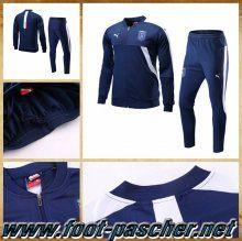 Replica Puma Veste De Survetement Italie Bleu Marine