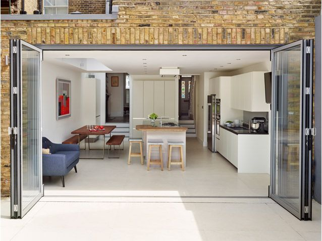 Kitchen Extension From Grand Designs TV Series