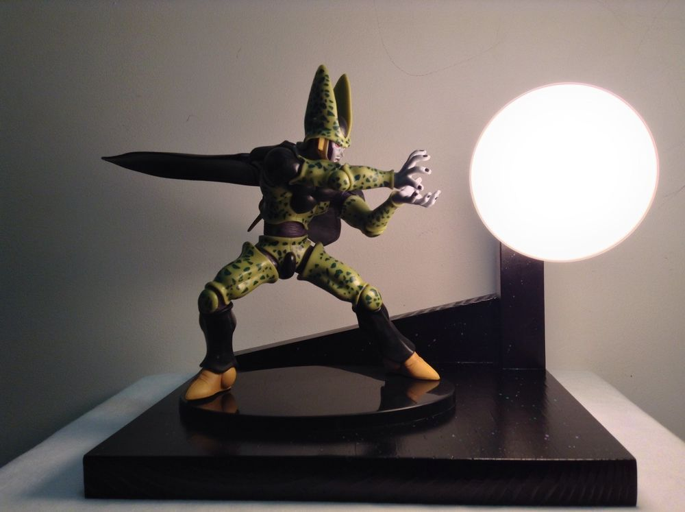 Perfect Cell DBZ Custom Lamp Dragonball Z Lamp Dragon Ball Z Lamp | EBay