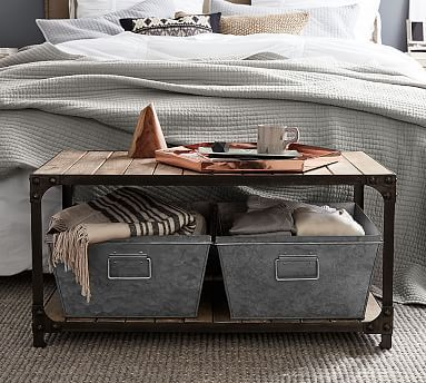 turlock coffee table mypotterybarn pottery barn small space big style apartment size. Black Bedroom Furniture Sets. Home Design Ideas
