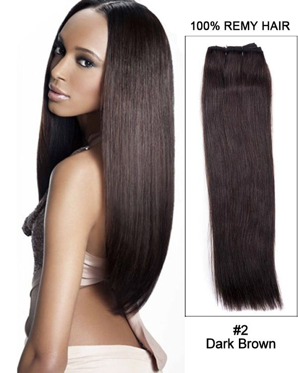 16 yaki straight brazilian remy hair weave weft human hair 16 yaki straight brazilian remy hair weave weft human hair extensions 2 dark pmusecretfo Gallery
