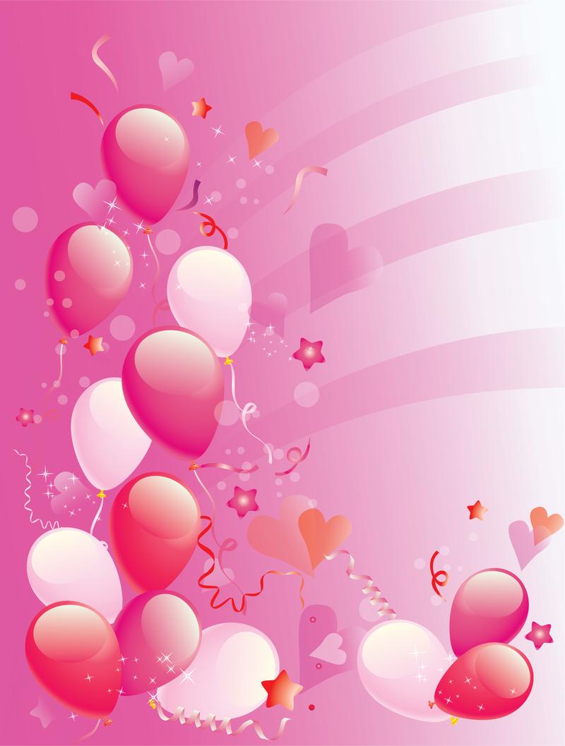 pink balloons png Buscar con Google Balloon background