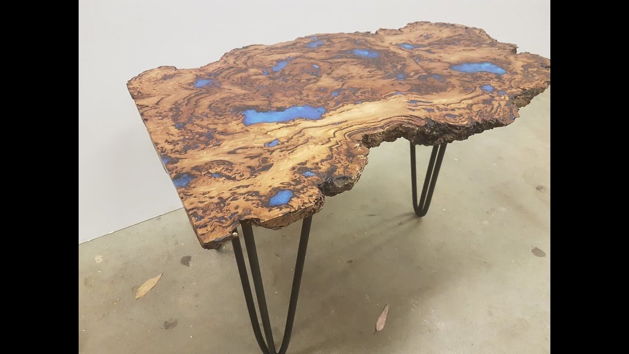 Epoxy Coffee Table You Will Need A Timber Burl Aldax Clear Cast