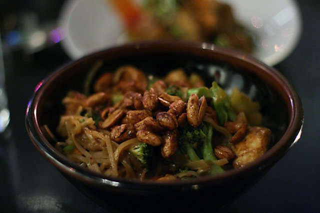 """""""spicy kung po chicken with twice cooked peanuts"""""""
