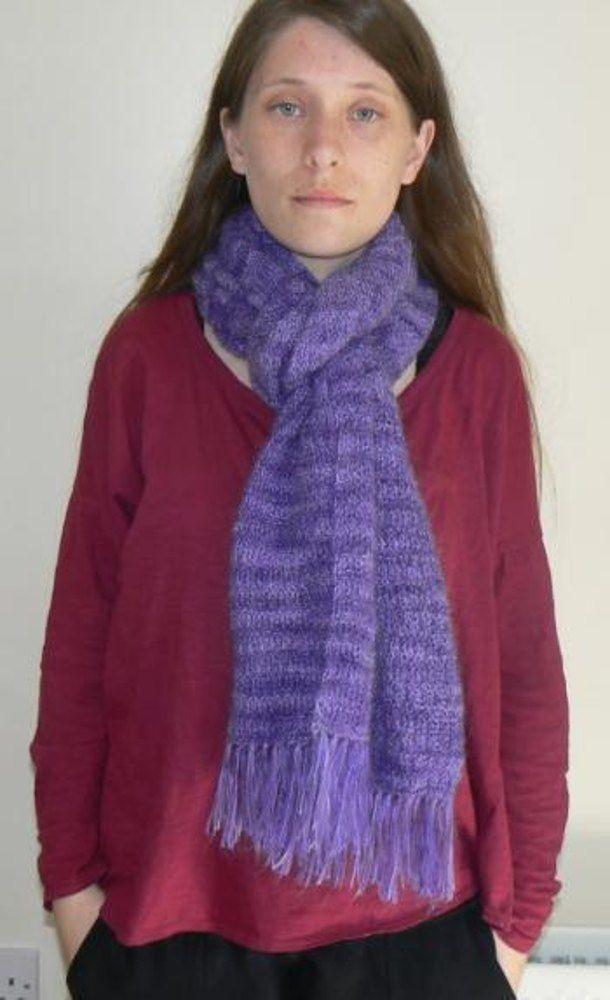 Easy Peasy Lace Scarf Knitting pattern by Fleur Delport ...