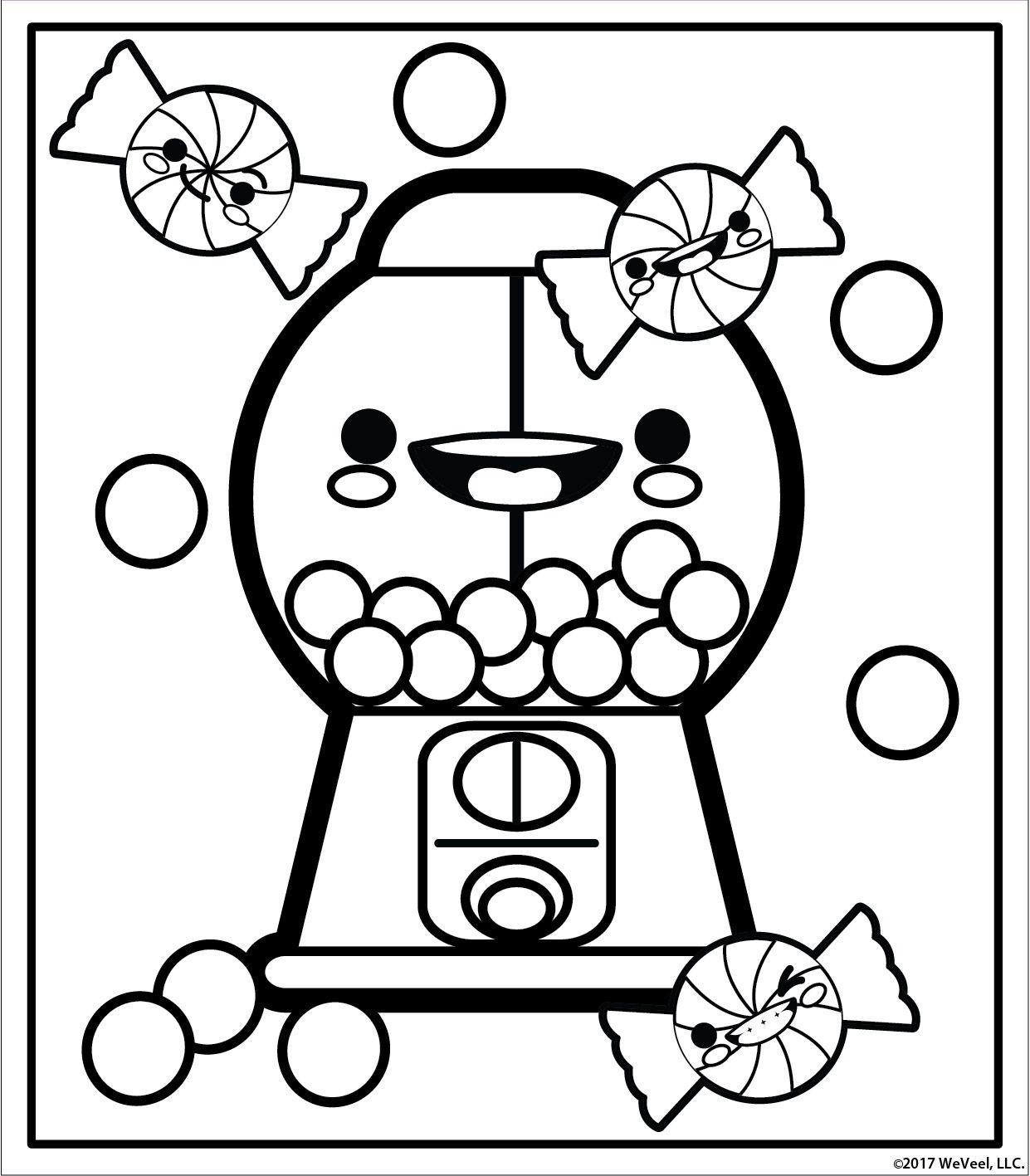 Free printable coloring pages at Cute girl