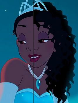 Princess Tiana Now Has Natural Hair Kaley Cuoco Has Pink Eyebrows Natural Hair Styles Natural Hair Styles For Black Women Cute Hairstyles For Kids