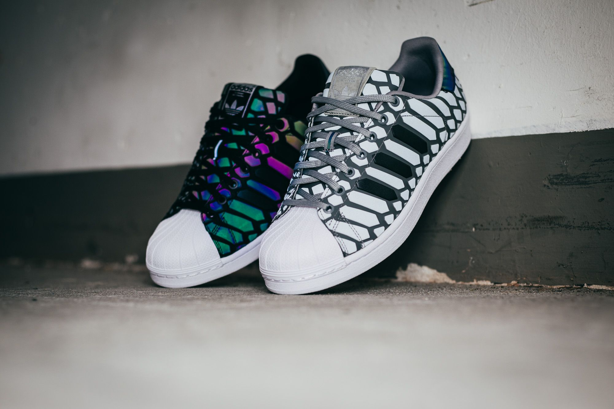 adidas superstar xeno black