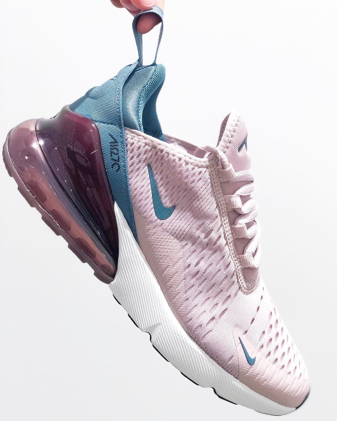 sale retailer 8968c 61ad1 The new Nike Air Max 270 Women s Shoe is inspired by two icons of big Air   the Air Max 180 and Air Max 93. It features Nike s biggest heel Air unit  yet ...