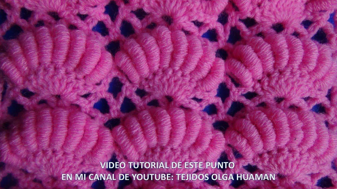 punto a crochet para colchita de bebe   Art   Pinterest   gehäkelte ...