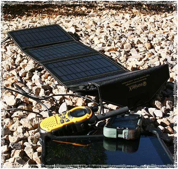 Off Grid Emergency Power Sunjack Portable Solar Charger Review Solar Panel Charger Solar Panels Solar Charger Portable