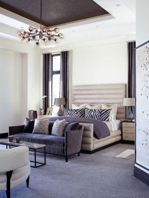 19 Elegant And Modern Master Bedroom Design Ideas Traditional Bedroom Design Bedroom With Sitting Area Master Bedroom Sitting Area