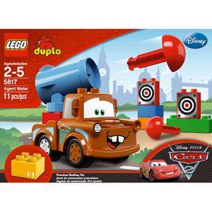 Lego Cars Agent Mater 5817 Walmart Com Lego Duplo Cars Lego Duplo Lego Cars