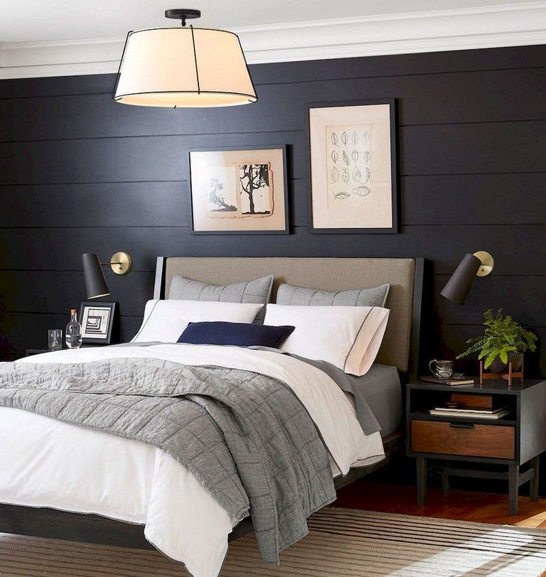 Pin On Master Bedroom Ideas: 37+ Amazing Navy Master Bedroom Decor Ideas #bedroomdecor