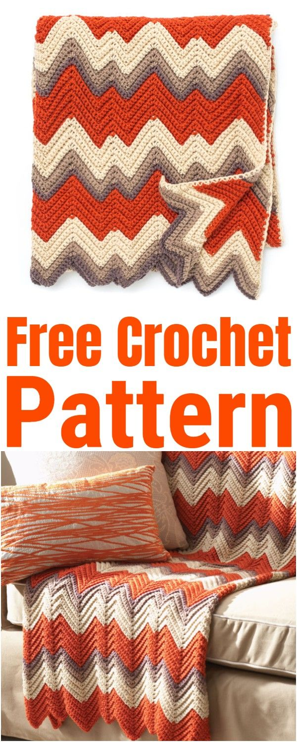 Free Crochet Afghan Patterns #afghanpatterns