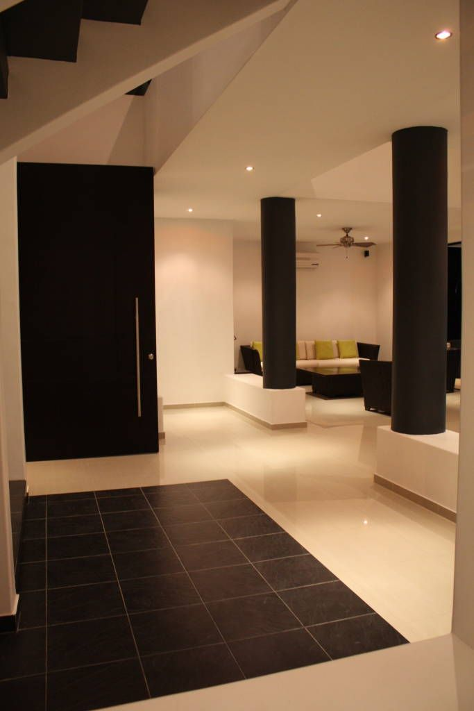 Casas de estilo por camilo pulido arquitectos casa for Modelos de interiores de casas modernas