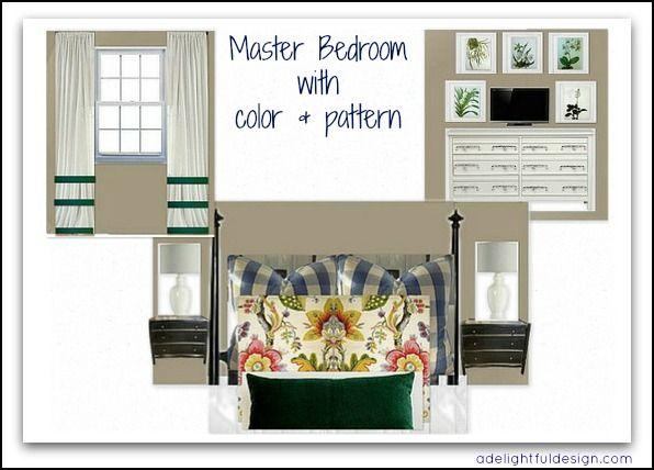A Delightful Design: Tennessee e-design: master bedroom