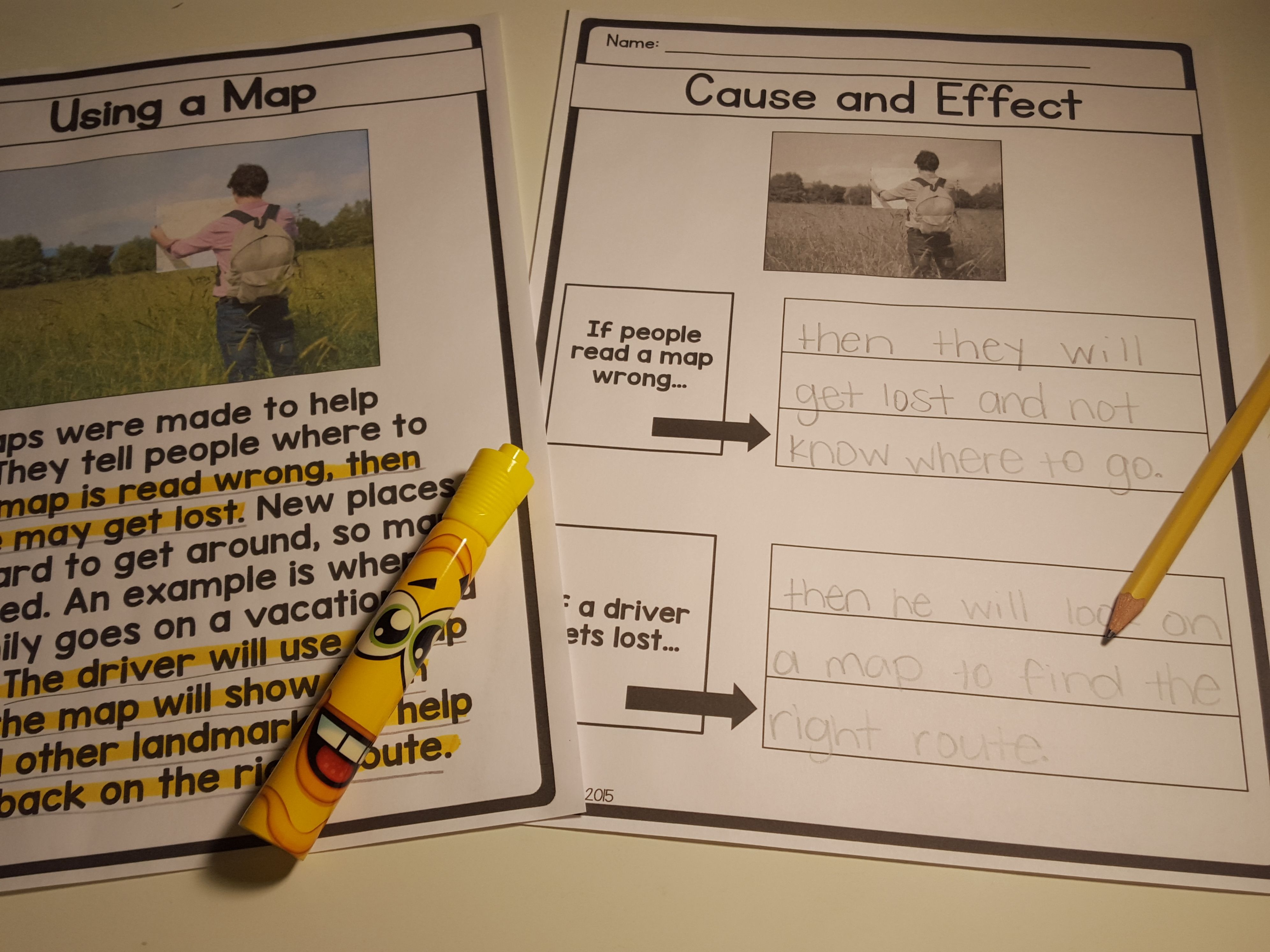 Cause And Effect Nonfiction Passage And Activities