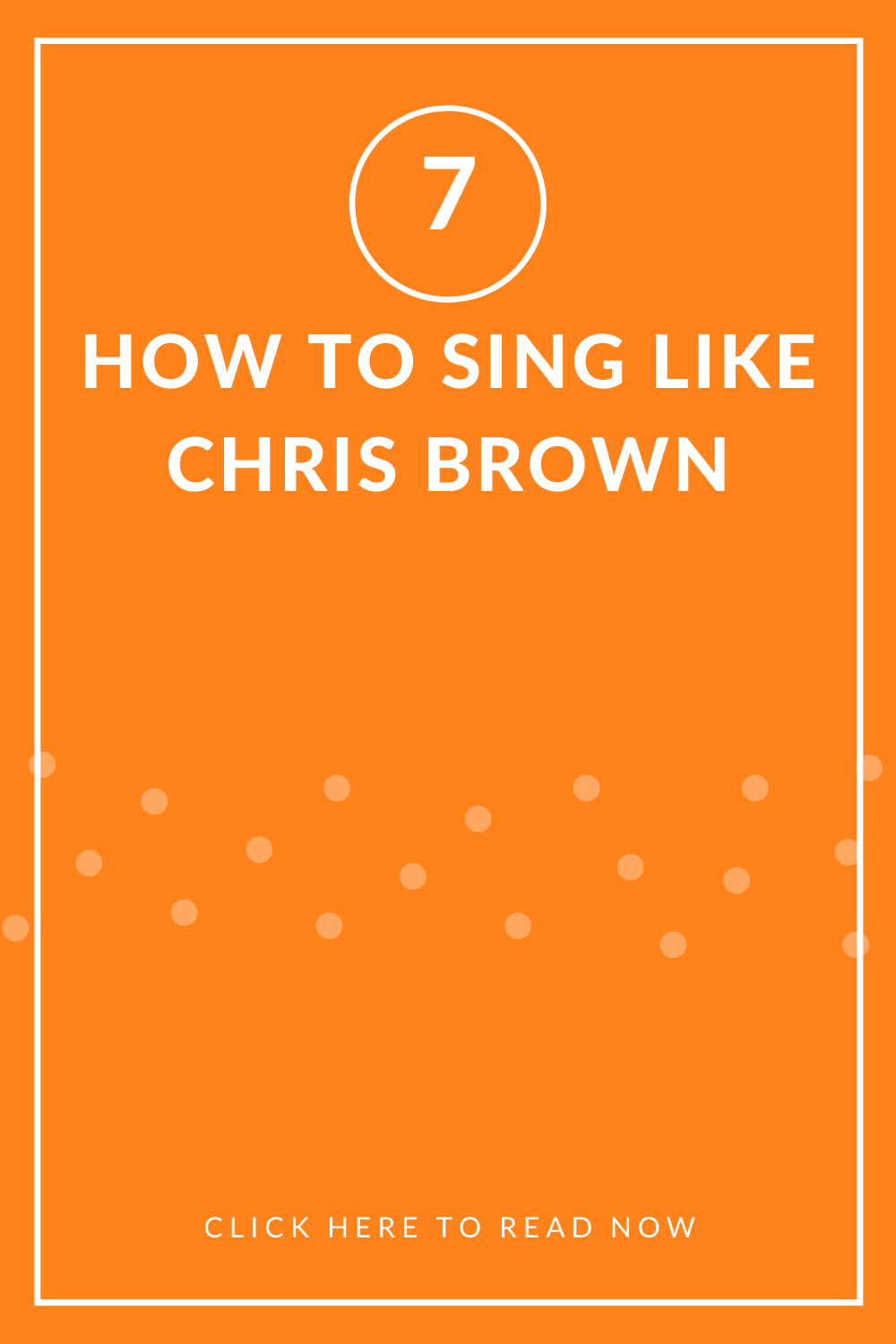 How To Sing Like Chris Brown Music And Entertainment Chris Brown Chris Brown Music Singing