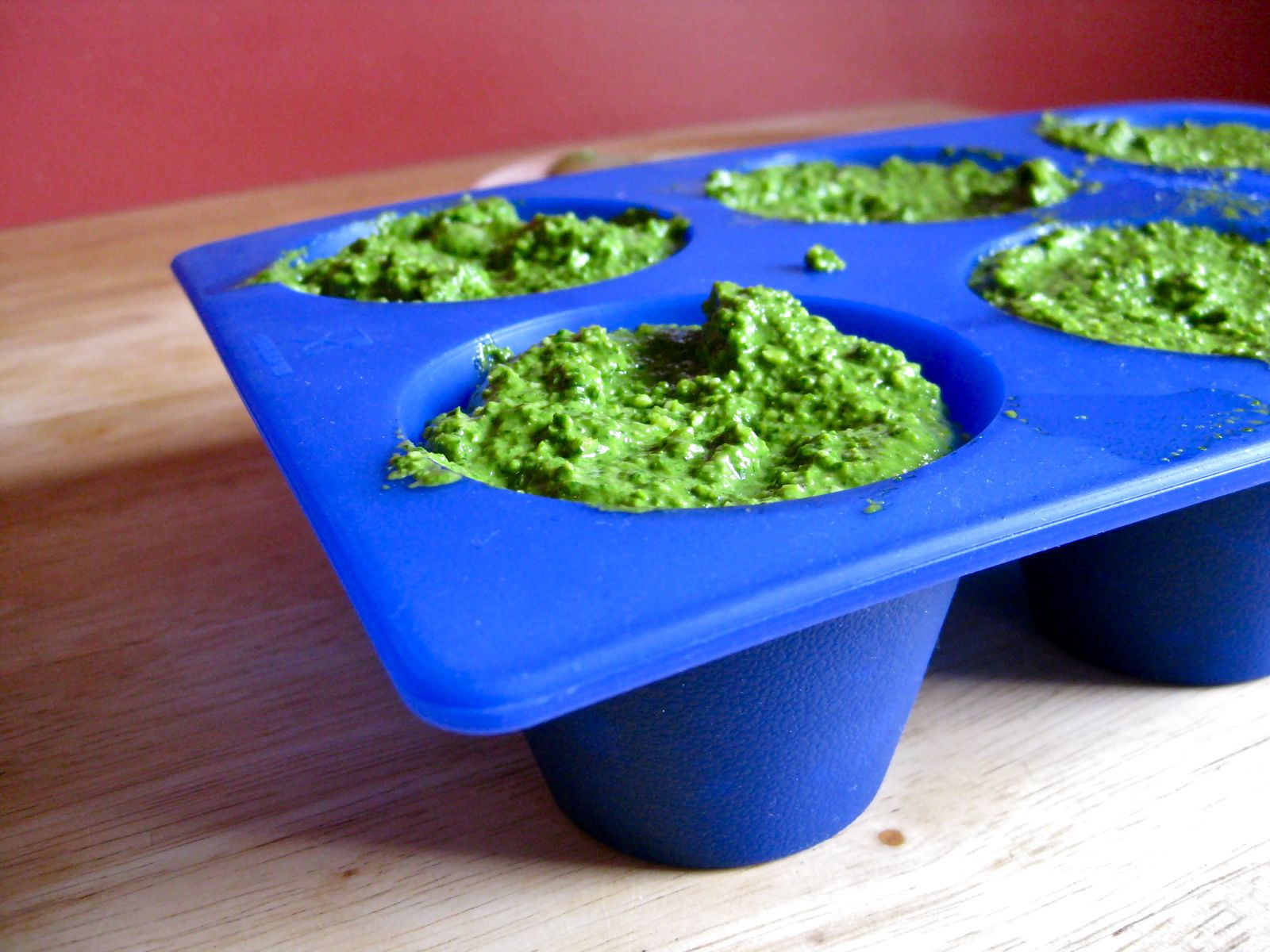 How to preserve fresh basil in the fridge easily for one