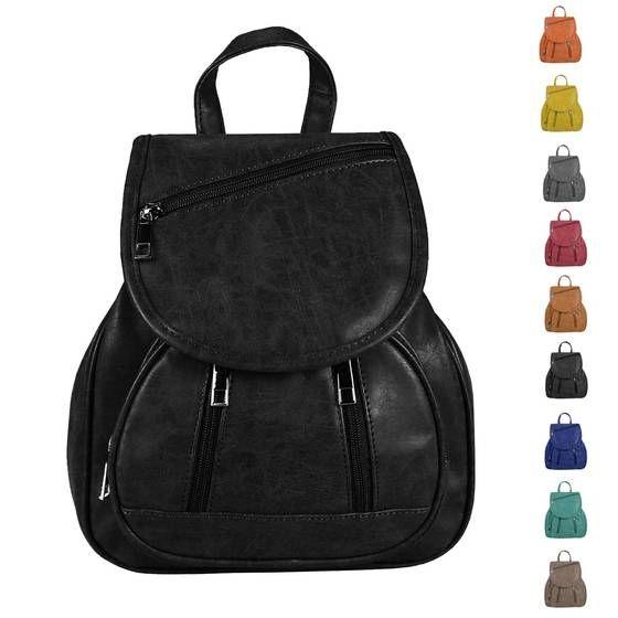 OBC RUCKSACK Stadtrucksack Schultertasche Cityrucksack BackPack Tasche Organizer Leder Nappaleder Patchleder Lederrucksack Tablet #bag