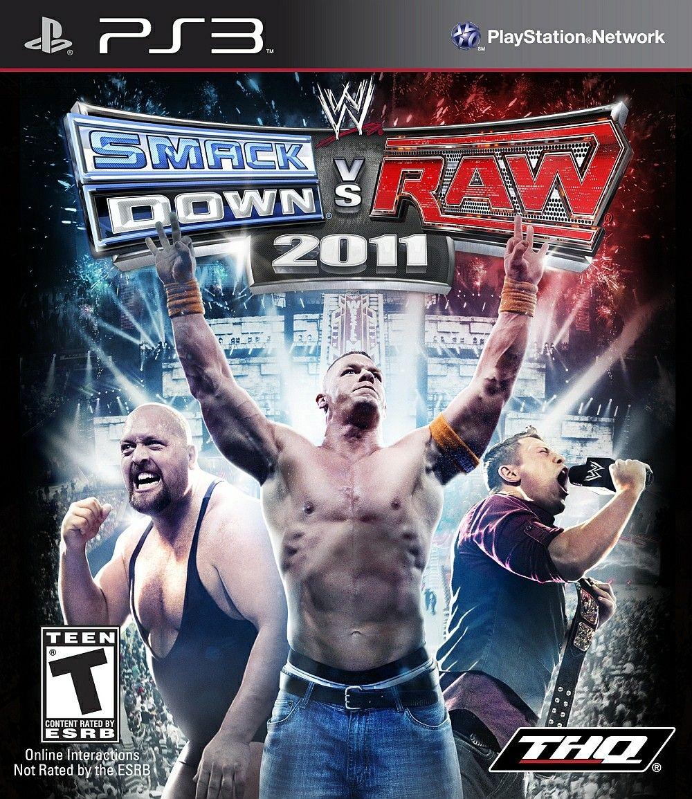 WWE Smackdown vs Raw 2011 Smackdown vs raw 2011, Wwe