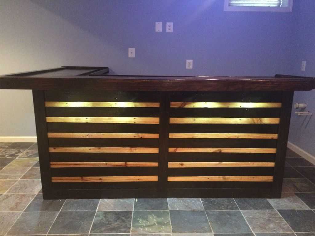 Gorgeous Low cost Pallet Bar DIY Ideas for Your Home! Plans DIY ...