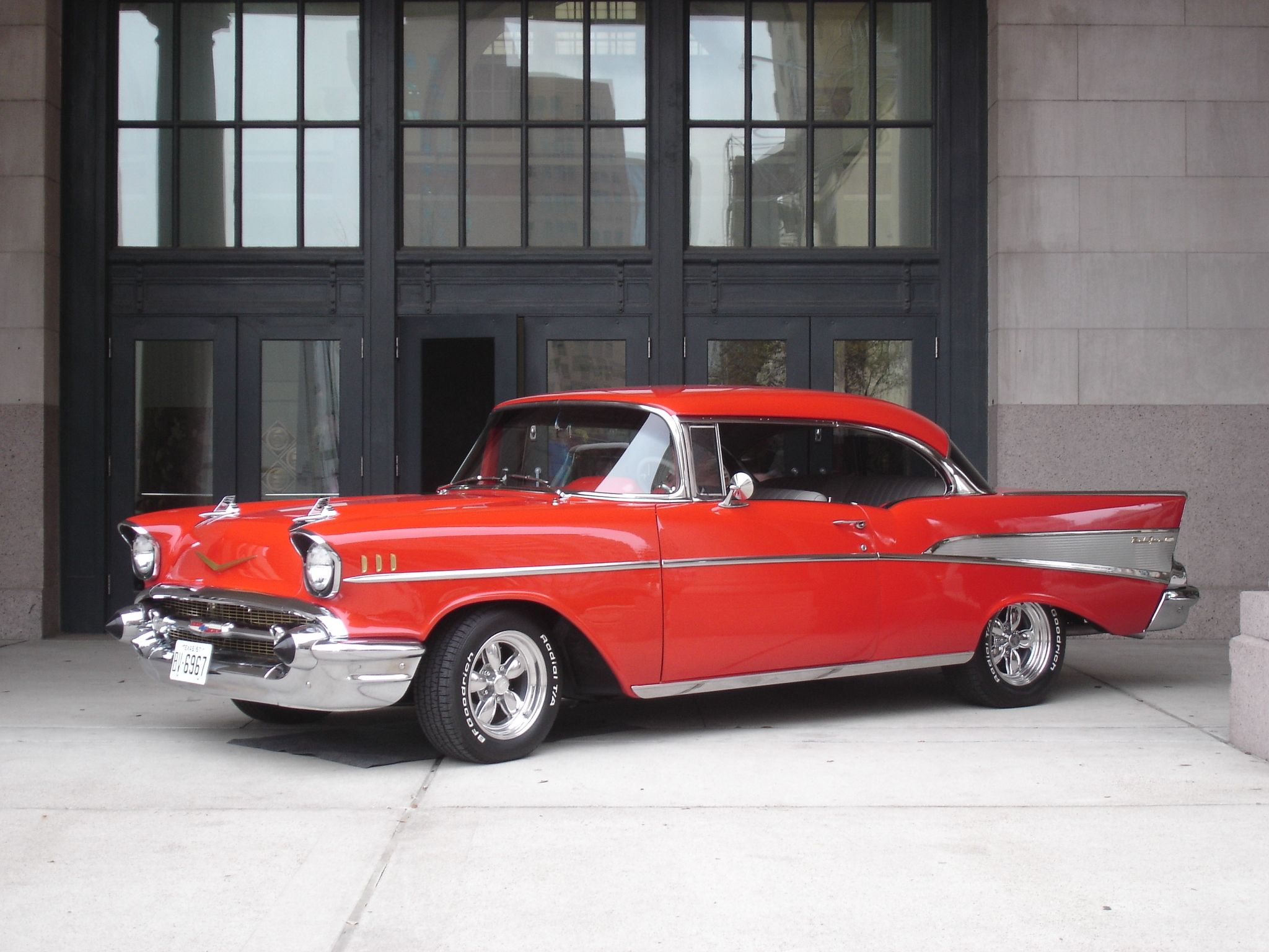 You just can't beat the classics 57 Chevy Classy cars