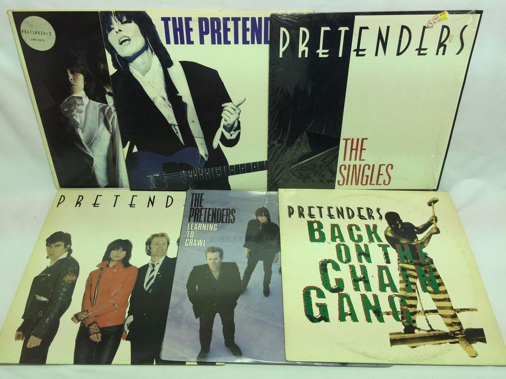 The Pretenders LP #Vinyl Record Lot: II Get Close The Singles Self Titled ++