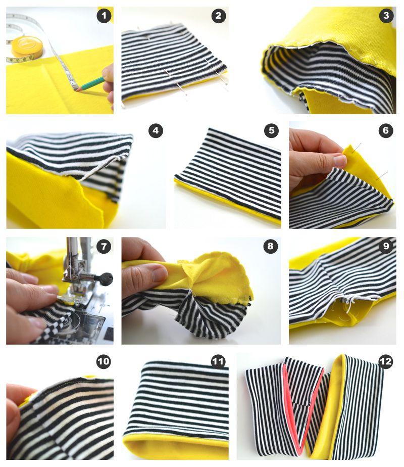 DIY: Sy høstens fineste pannebånd - Trinn-for-trinn-forklaring finner du på myldre.com.   DIY: Make a cute headband for the kids - Tutorial at myldre.com.