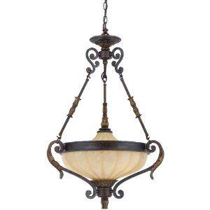 Triarch 32762 23 3 Light Venus Bowl Large Pendant English Bronze