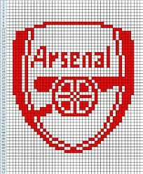 EVERTON F.C FOOTBALL BADGE Counted Cross Stitch Chart