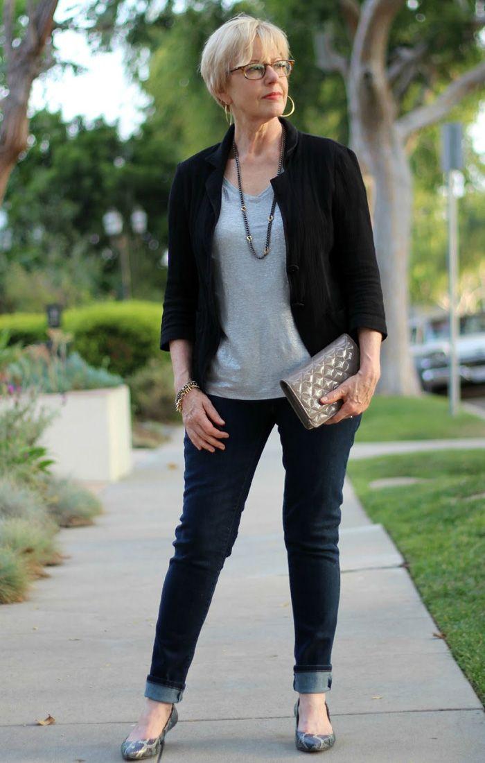 casual fashion women over 50