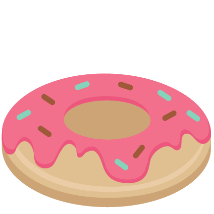 donut svg scrapbook cut file cute clipart files for silhouette rh pinterest com free donut and coffee clipart