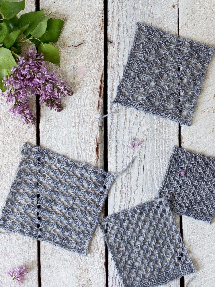 How To Make An Easy Lace Knit Shawl Pattern Pinterest Shawl