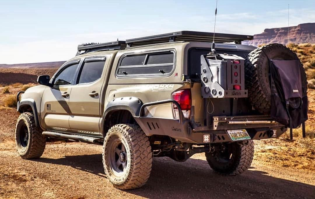 Image May Contain Outdoor Toyota Tacoma Accessories Tacoma