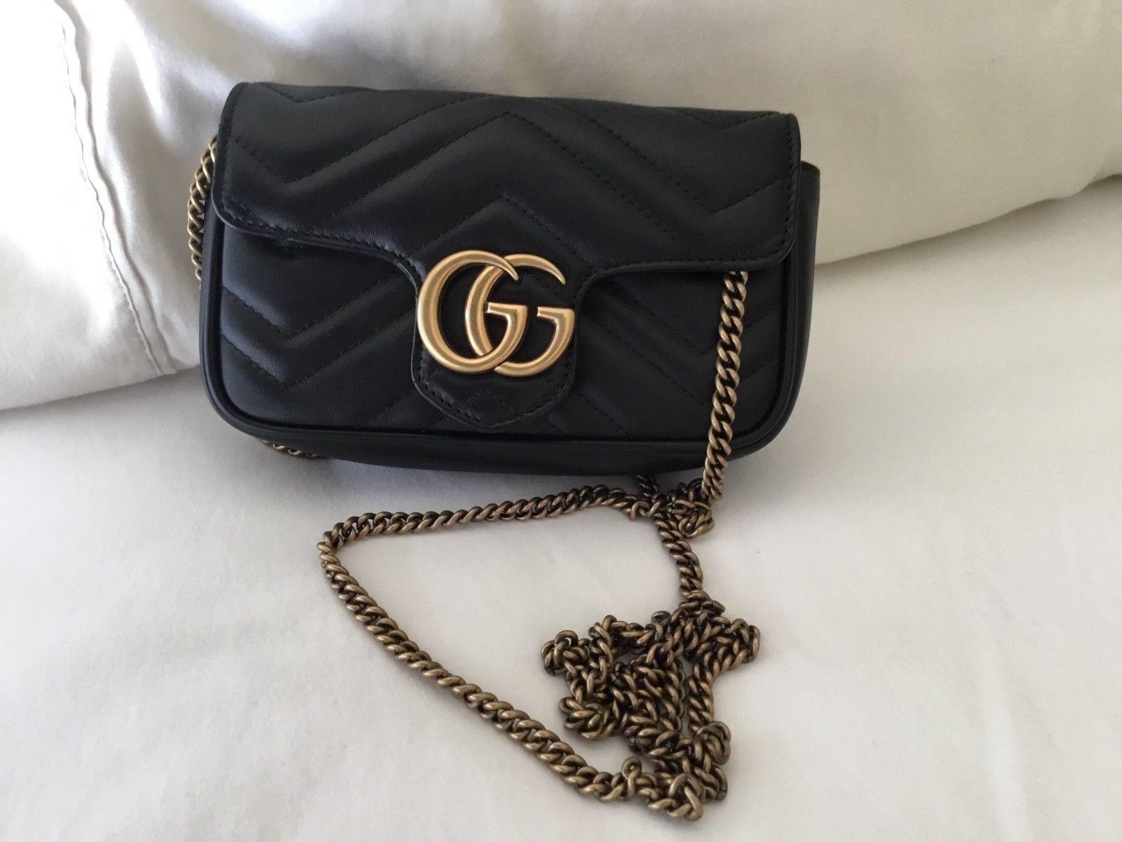Gucci GG Marmont Matelasse Super Mini Bag Mini bag