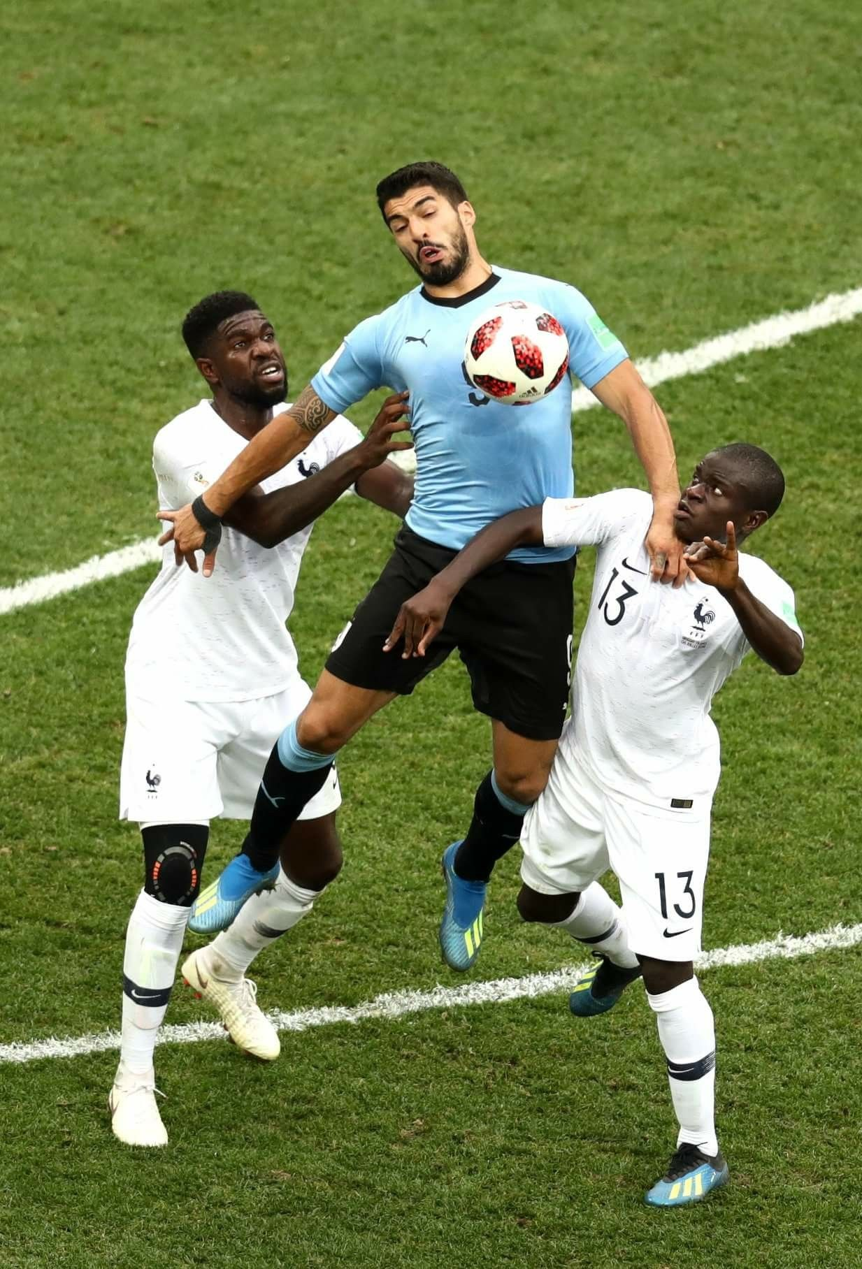 Uruguay x France FIFA World Cup Russia 2018 France