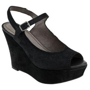SALE - Womens Nicole Arrow Wedge Heels Black - Was $129.00 - SAVE $30.00. BUY Now - ONLY $99.00.