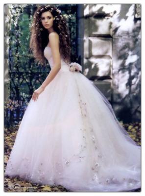 poofy wedding dress