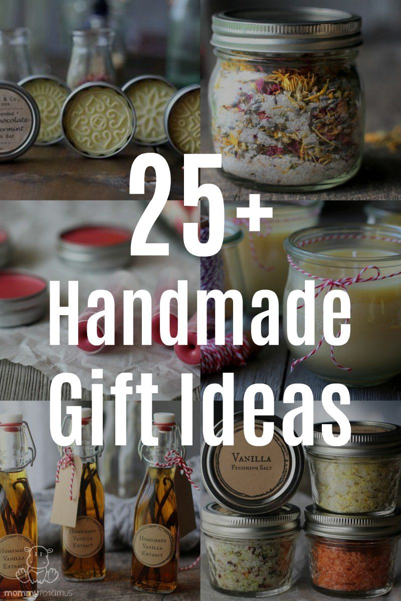 25 Homemade Gift Ideas That Are Easy To Make #diychristmasgifts