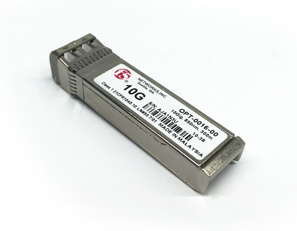 F5 Networks 10gbase Sr 10g Ethernet Sfp Transceiver F5 Networks Networking Computer Equipment