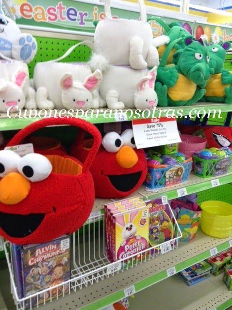 Toys R Us: Productos de Easter con el 75% de Descuento!