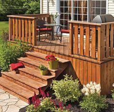 20 inspiring wood deck design ideas